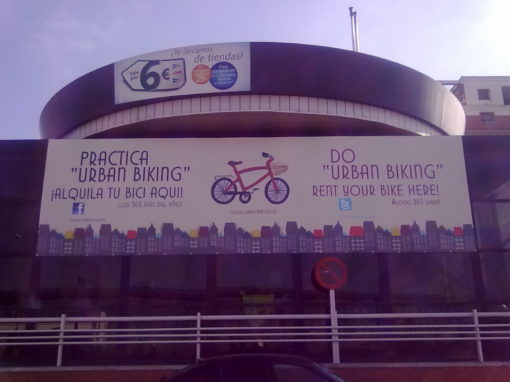 Vallas publicitarias Urban Biking