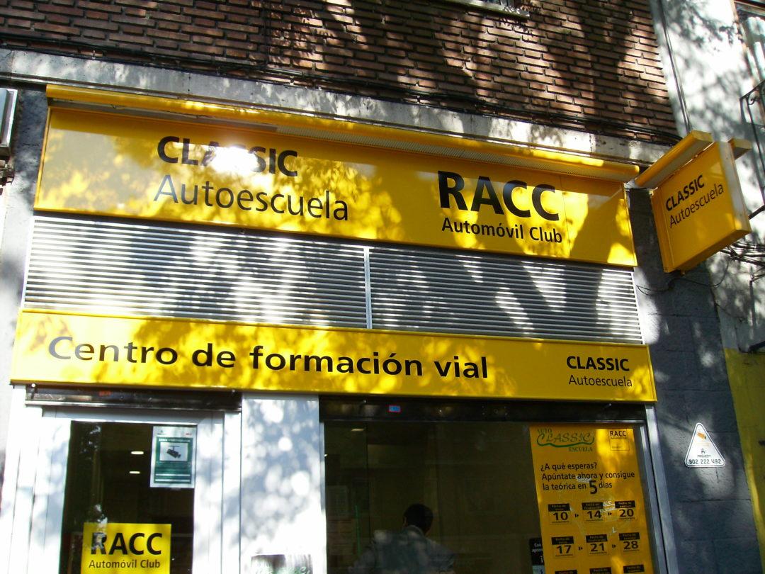 Rótulos RACC