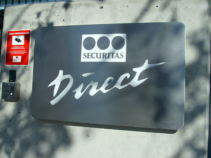 Rótulos Securitas Direct